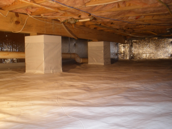 Is crawl space encapsulation necessary for a dry for Dry basement