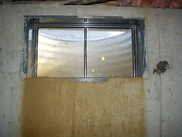 solutions for leaky basement windows basement waterproofing rh basementwaterproofing com basement window leaking around frame